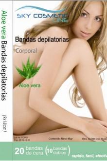 BANDAS DEPILATORIAS CORPORALES