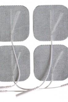 ELECTRODOS TENS EMS ELECTROESTIMULACION PORTATIL X 4